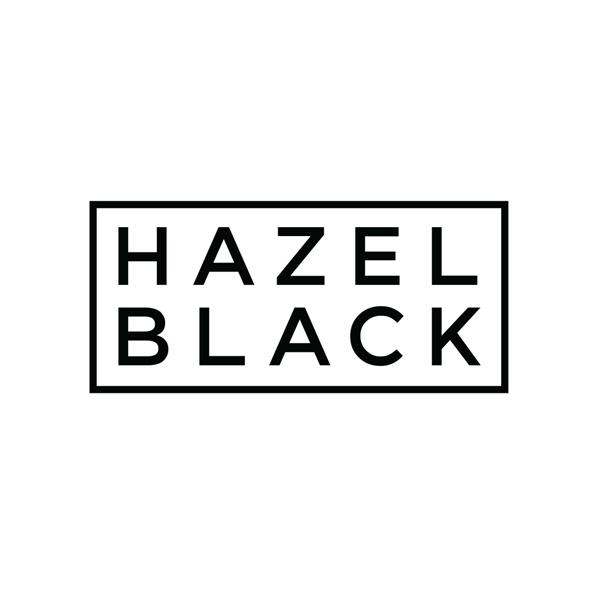 hazel black logo - Logo Design