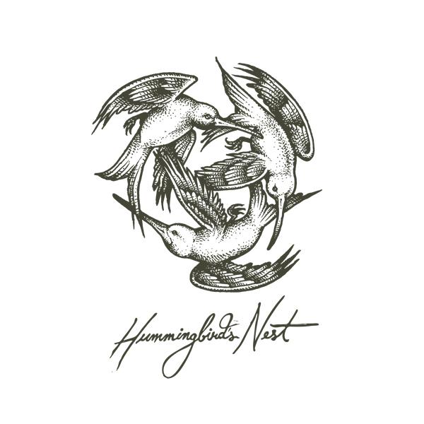 humming bird nest 1 - Logo Design
