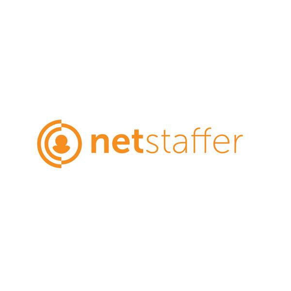 netstaffer logo - Logo Design