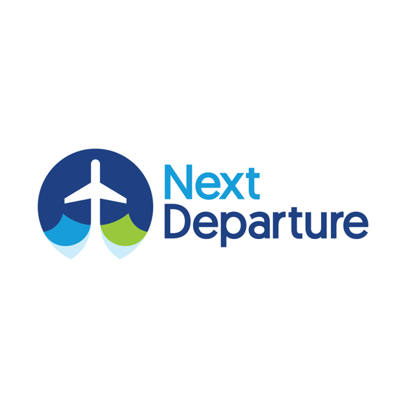 next departure logo - Logo Design