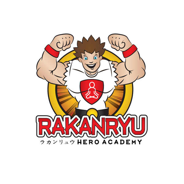 rakanryu hero academy - Logo Design