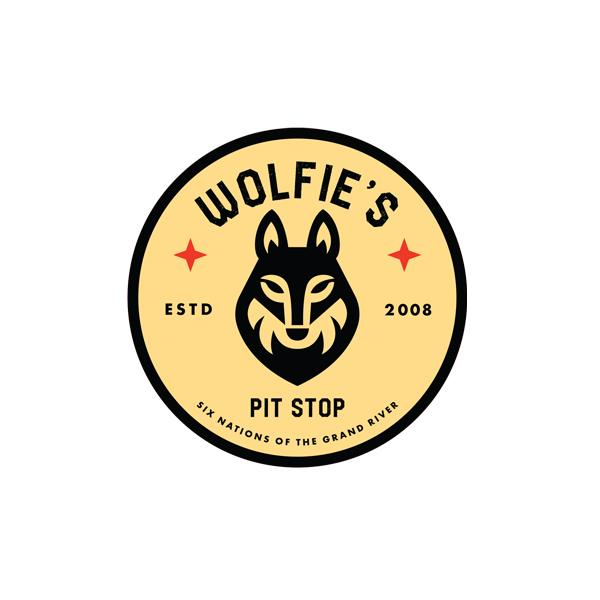 wolfies pit stop logo - Logo Design